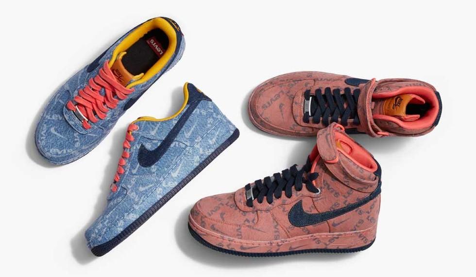 Sollozos Conmemorativo folleto  Zapatillas vaqueras o 'jeans' para los pies? Esto pasa cuando Levi's y Nike  unen fuerzas