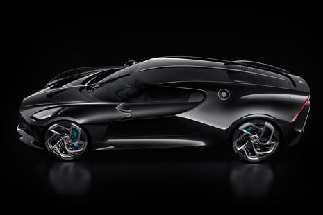 Un Bugatti de 11 millones de euros en el Salón de Ginebra