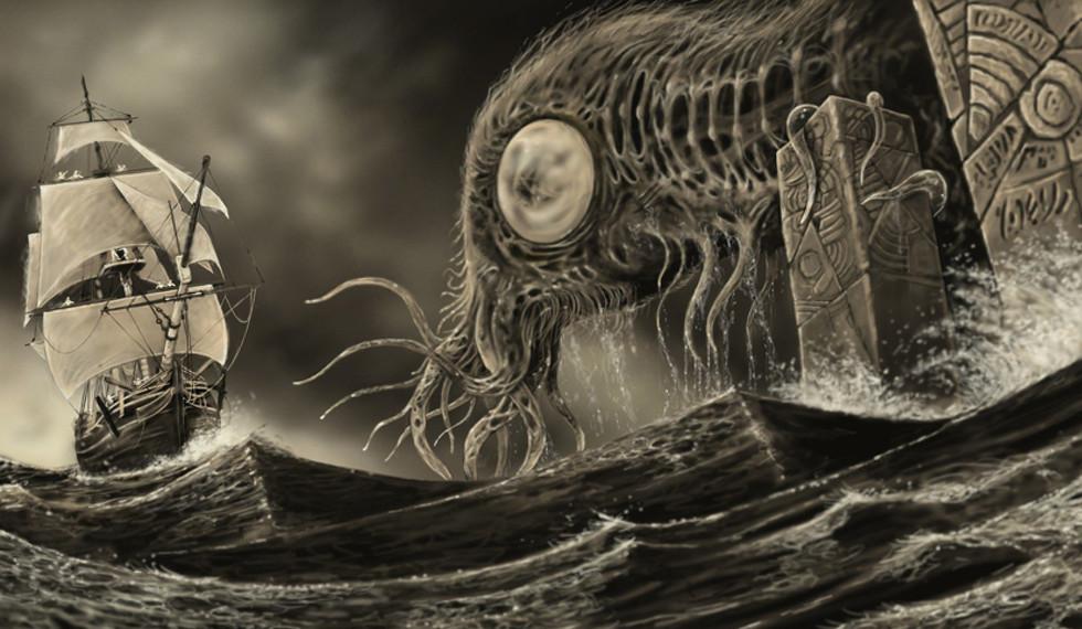 Resultado de imagen para h p lovecraft la llamada de cthulhu