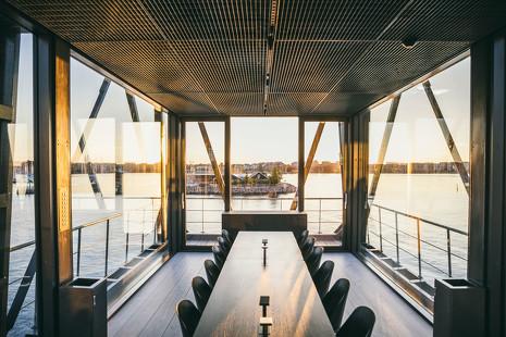 Un hotel en las alturas del muelle de Copenhage