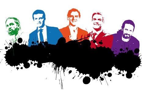 5 hombres ¿sin estilo?: así visten los principales candidatos a la Moncloa