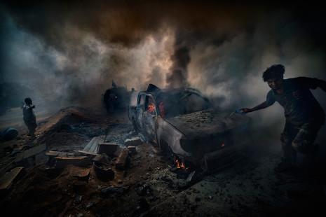 Los horrores del Estado Islámico fotografiados por Ricardo García Vilanova