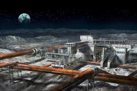 Este es el aspecto que tendría una ciudad terrícola en la Luna