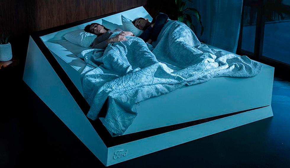 Raro, pero cierto: Ford inventó una cama con colchón giratorio
